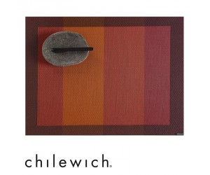 Chilewich Tischset Color Tempo paprika