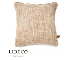 Libeco Dekokissen Construction beeswax washed