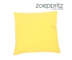 Zoeppritz Dekokissen Soft-Fleece corn