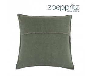 Zoeppritz Dekokissen Soft-Fleece military green