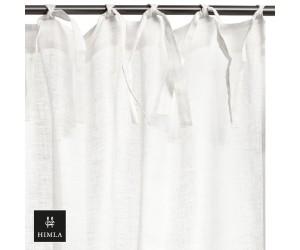 Himla Vorhang Dalsland-Laschen weiß
