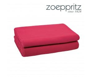 Zoeppritz Plaid Soft-Fleece wild berry (160 x 200 cm)