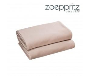 Zoeppritz Plaid Soft-Fleece light wood