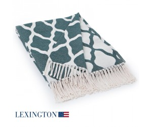 Lexington Decke Cotton Jacquard grün