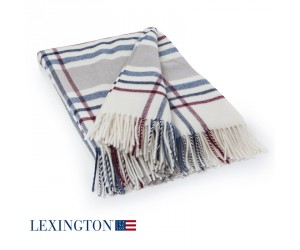 Lexington Decke Wool Frame creme
