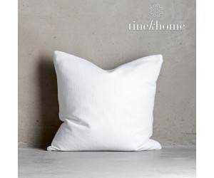 Tine K Home Dekokissenbezug Deco Plain weiß quadratisch