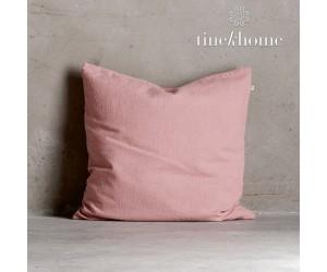 Tine K Home Dekokissenbezug Deco Plain rose quadratisch
