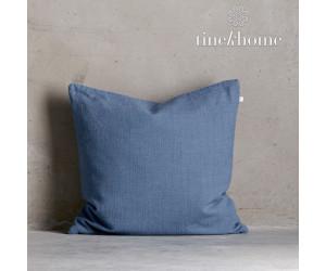 Tine K Home Dekokissenbezug Deco Plain azul quadratisch