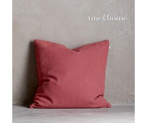 Tine K Home Dekokissenbezug Deco Plain clay quadratisch