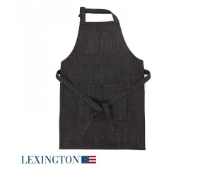 Lexington Schürze Denim schwarz