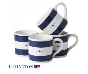 Lexington Tasse Star blau