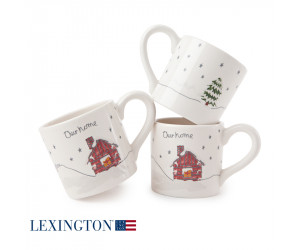 Lexington Holiday Tasse