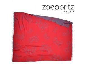 Zoeppritz Jacquardplaid Mickey Must geranium-355