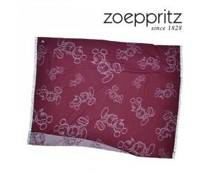 Zoeppritz Jacquardplaid Mickey Must weinrot-390