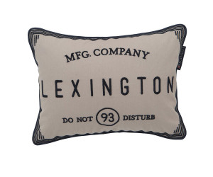 Lexington Dekokissen Hotel Do Not Disturb Sham beige (30x40 cm)
