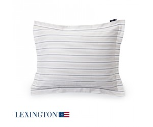 Lexington Bettwäsche Spring Striped Sateen in beige-weiß