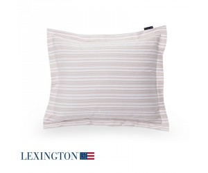 Lexington Bettwäsche Spring Striped Sateen rosa-weiß