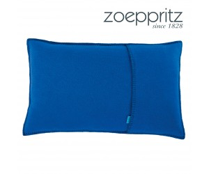 Zoeppritz Dekokissen Soft-Fleece aquamarin