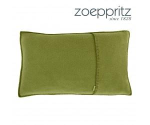 Zoeppritz Dekokissen Soft-Fleece jade