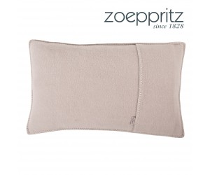 Zoeppritz Dekokissen Soft-Fleece light wood