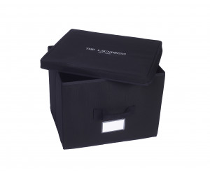 The Laundress Aufbewahrungsbox Small Cube black (27x27x27x cm)