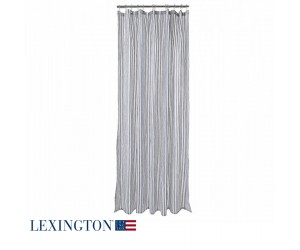 Lexington Duschvorhang blau/weiß