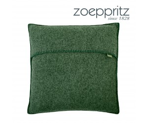 Zoeppritz Dekokissen Soft-Wool huntergreen