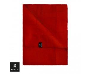 Himla Tischwäsche Serie Ebba dunkel rot