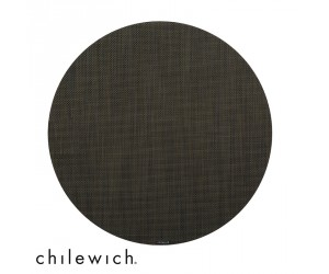 Chilewich Set rund Mini Basketweave espresso