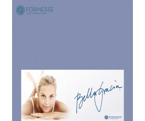 Formesse Spannbettlaken Bella Gracia jeansblau