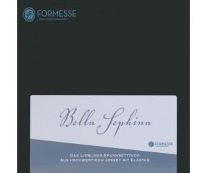 Formesse Spannbettlaken Bella Sephina schwarz -0101