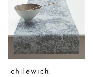 Chilewich Läufer Faded Floral blau