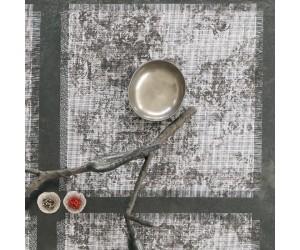 Chilewich Tischset Faded Floral schwarz/weiß