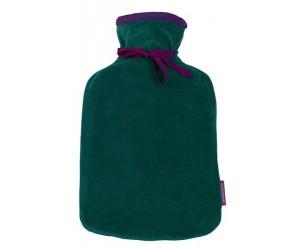 Farbenfreunde Wärmflasche Twins smaragd  / aubergine (131/213)