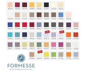 Formesse Farb-Stoffmusterkarte zu allen Modellen