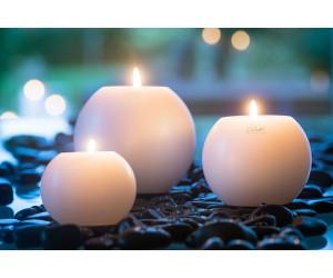 Qult Farluce Moon Kerzenhalter weiß (3 Größen)