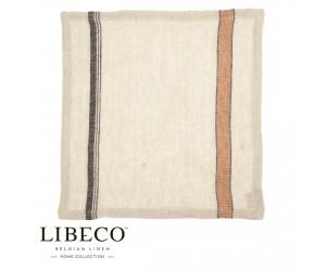 Libeco Servietten Set Feldhaus flax stripe (6 Stück)