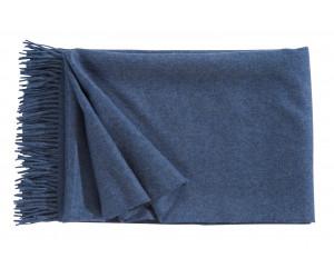 Christian Fischbacher Decke Puro blau -511 (130 x 200cm)