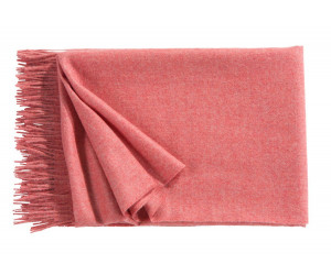 Christian Fischbacher Decke Puro rosé -512 (130 x 200cm)