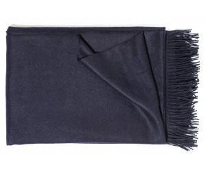 Christian Fischbacher Decke Puro dunkelblau -501 (130 x 200cm)