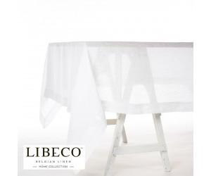Libeco Tischdecke Fjord washed weiß