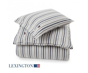 Lexington Bettwäsche Flannel Stripe