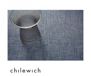 Chilewich Teppich Basketweave denim