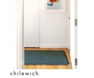 Chilewich Teppich Market Fringe pacific