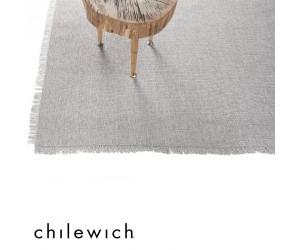 Chilewich Teppich Market Fringe quartz