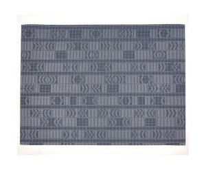 Chilewich Teppich Scout dunkelblau -001