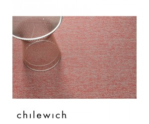 Chilewich Fußmatte Heathered guava