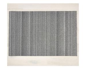 Chilewich Teppich Skinny Stripe grau -020