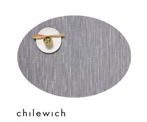 Chilewich Set Oval Bamboo fog
