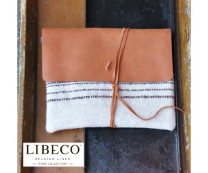 Libeco Clutch Forges stripe